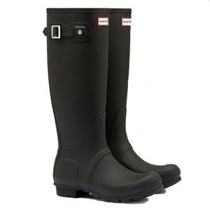 HUNTER Original Matte Black Tall Rainboots